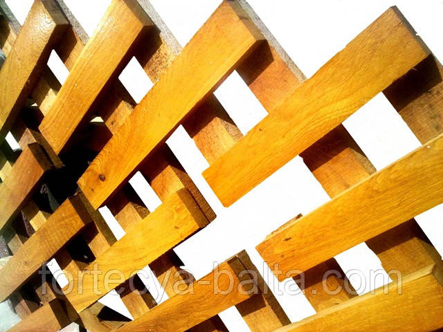 Забор штакетник квадрат №2