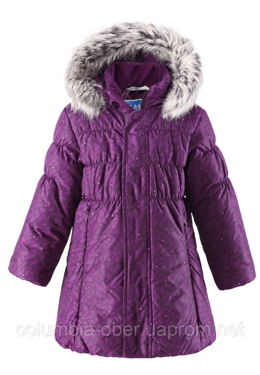 Зимнее пальто для девочки Lassie by Reima 721698 - 4981. Размеры 92 - 116.