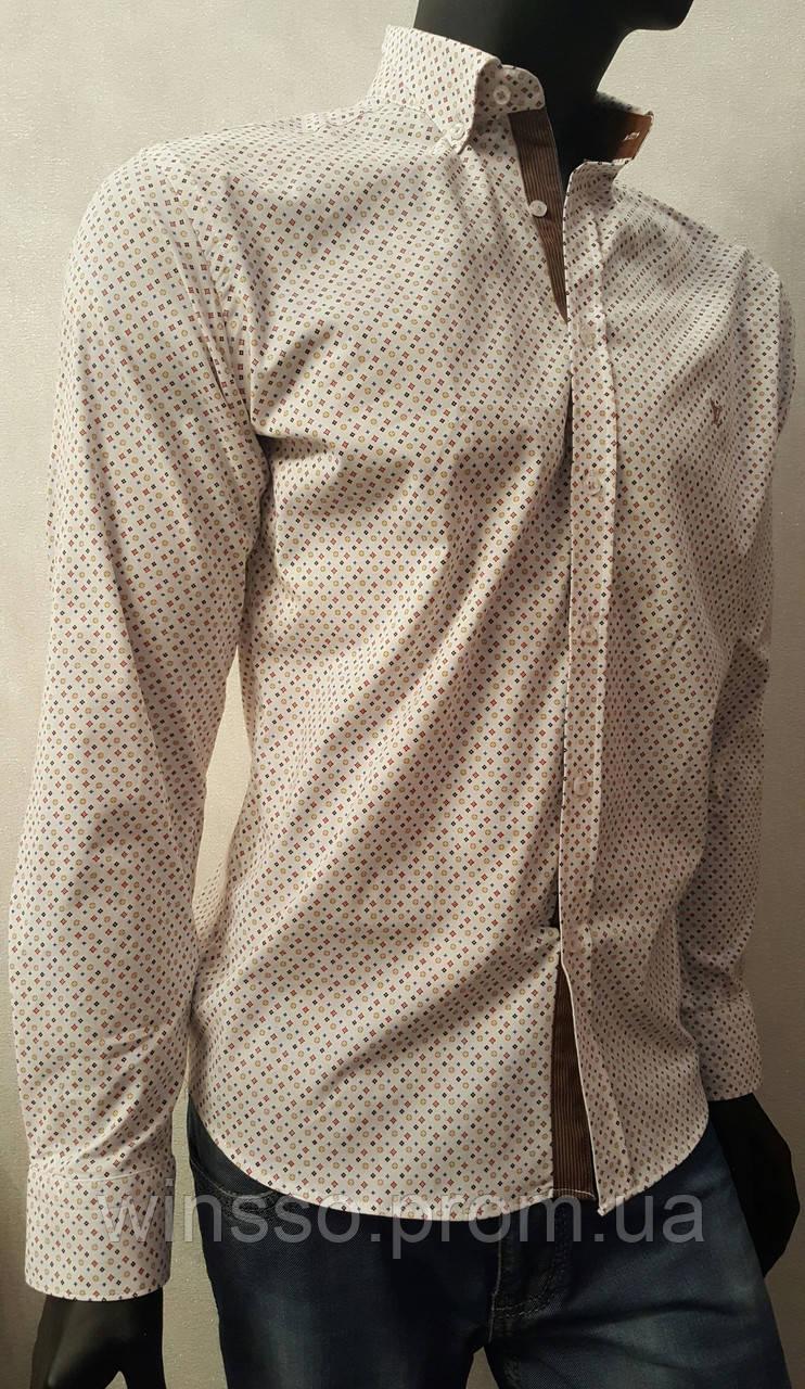 ca3acf5a36cc Мужская рубашка Louis Vuitton - Оптовый интернет магазин одежды