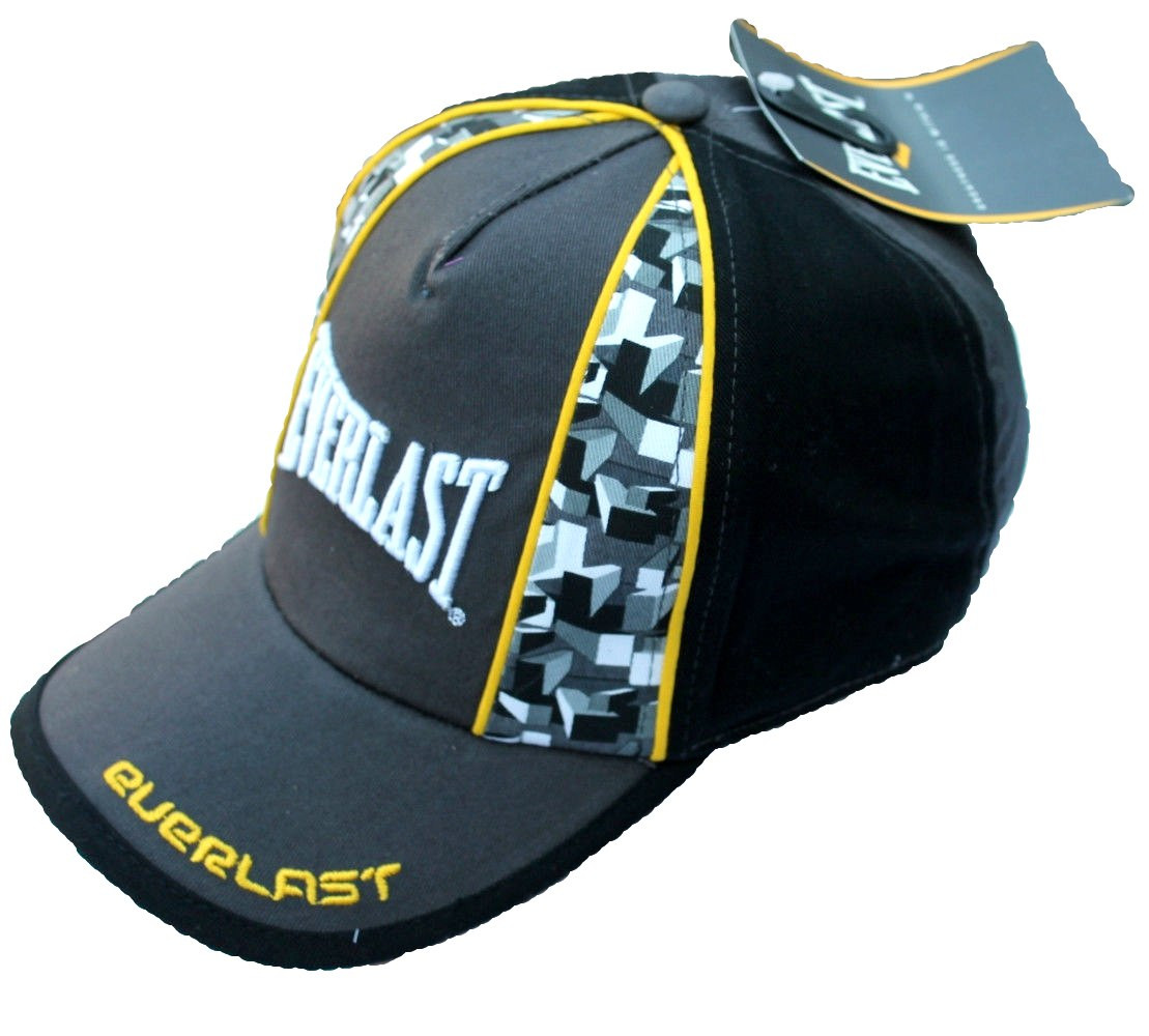 Кепка Everlast (желто черная)