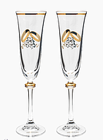 Свадебные бокалы VIP, модель 2