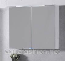 Зеркальный шкаф 800х700х270 с подсветкой Fancy Marble ШЗ-10