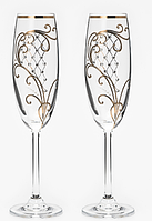 Свадебные бокалы VIP, модель 8