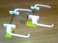 Двухсторонняя узкая ручка с ключом