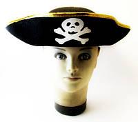 Шляпа - Пират треуголка