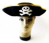 Шляпа - Пират треуголка, фото 1