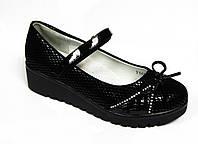 Туфли школьные на платформе для девочки р.30 ТМ Y.top