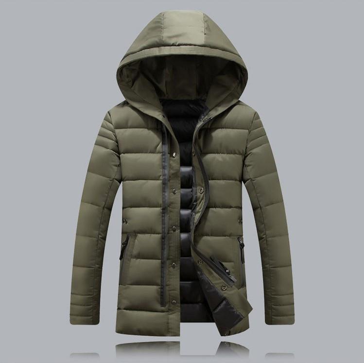 4590aea840196 Мужской зимний пуховик куртка. Модель 725 - купить Украина ...