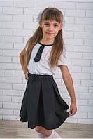 Школьная форма для девочки с галстуком