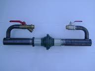 """Байпас обводной 2"""" с клапаном короткий"""