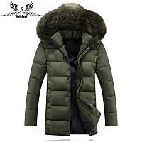 Мужской зимний пуховик куртка. Модель 726