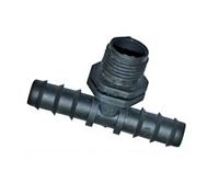"""SL-022 (1/2"""") Тройник для трубки с нар.резьбой 16х1/2х16"""