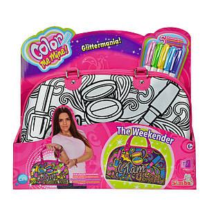 """Творчество и рукоделие «Color Me Mine» (6371193) сумочка """"Розовый Гламур"""" для уикенда, 5 маркеров, 33x23 см, фото 2"""