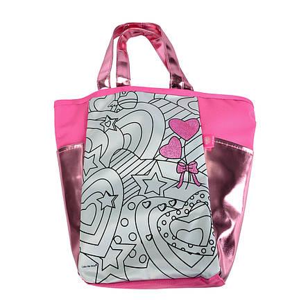 """Творчество и рукоделие «Color Me Mine» (6372377) сумочка """"Алмазный блеск"""" с розовыми вставками, 5 маркеров, 31х28 см, фото 2"""