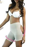 Женские бежевые шорты с лифтинг эффектом. Q75070-1