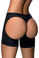 Женские черные шорты с лифтинг эффектом. Q75070