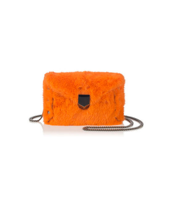 Jimmy Choo Lockett Envelope Mini Orange