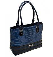 Женская сумка синего цвета
