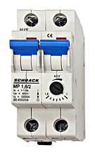 Автомат защиты двигателя  АВЗД 2P 1-1.6А Schrack