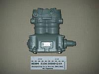 Компрессор 2-цилиндровый МАЗ, К-701, Т 150, КРАЗ (без шкива) (пр-во БЗА)