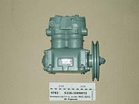 Компрессор 2-цилиндровый МАЗ, К-701, Т 150, КРАЗ (со шкивом) (пр-во БЗА)