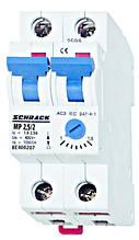 Автомат защиты двигателя  АВЗД 2P 1.6-2.5А Schrack