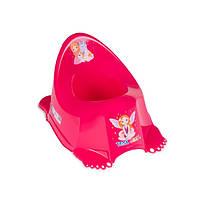 Горшок анти скользящий Tega LP-001 Princess малиновый