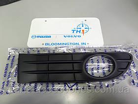 Volvo S40 2008-12 правая решетка в передний бампер новая оригинальная