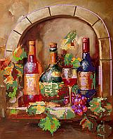 Схема для вышивки бисером POINT ART Вкусное вино, размер 21х26 см