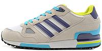 Мужские кроссовки Adidas ZX 750 (адидас) серые