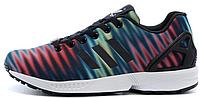 Мужские кроссовки Adidas Originals ZX 8000 Flux (адидас флюкс) синие