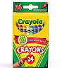 Крайола кольорові олівці воскові крейди, в наборі 24 кольору, Crayola