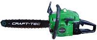 Бензопила Craft-tec CT-4000 (2 шины + 2 цепи)