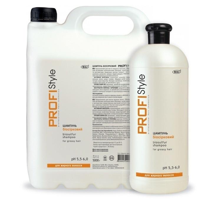 Шампунь биосерный для жирных волос ProfiStyle 1000 мл
