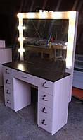 Стол для визажиста (макияжа) гримерный с подсветкой V54