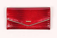 Кожаный кошелек Cossroll в красном цвете