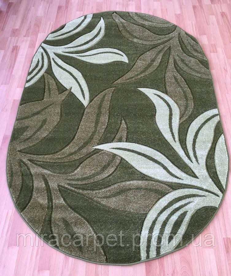 Высококачественный овальный ковер на пол