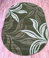 Высококачественный овальный ковер на пол, фото 1