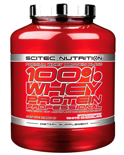 Протеин 100% WHEY PROTEIN PROFESSIONAL 2350 г Вкус: strawberry