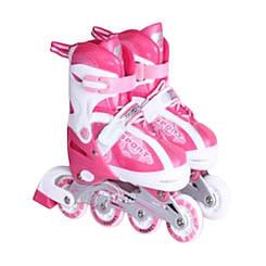 Ролики детские Babyhit светящиеся колеса - Розовые (размеры S, M)