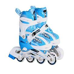 Ролики детские Babyhit светящиеся колеса - Синии (размеры S, M)