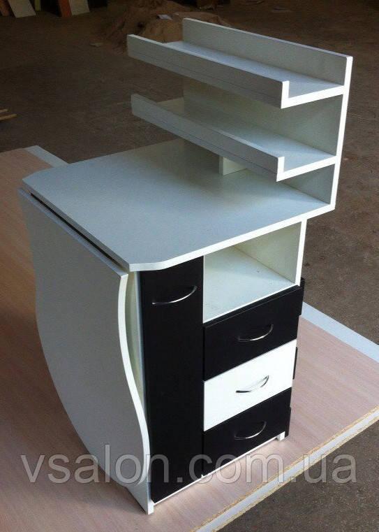 Маникюрный стол тумба складной V61