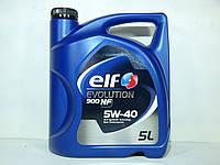 Масло моторное Elf Evolution 900 NF 5w40 5л