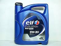 Масло моторное Elf Evolution 900 SXR 5w30 4л