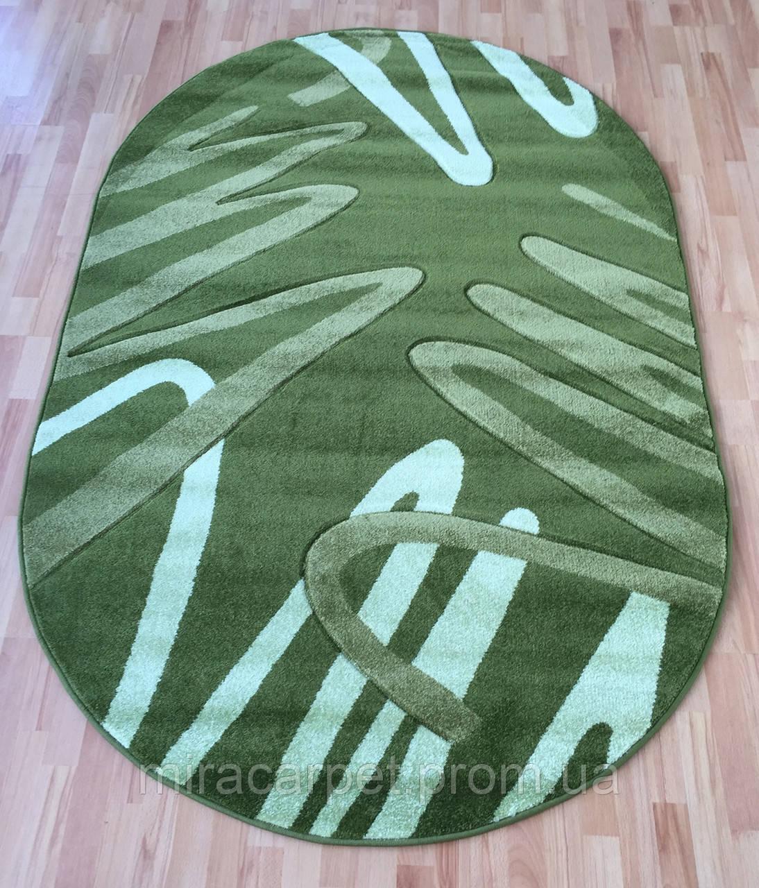 Зеленый турецкий ковер Fruze