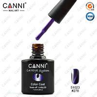Магнитное гелевое покрытие для ногтей - фиолетовый