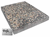 Плитка 400х300х40 Базальт с мраморитом