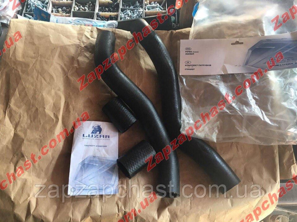Патрубки радиатора Ваз 21082 инжектор 2108 2109 21099 к-кт 4 шт