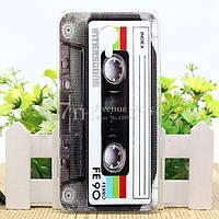 Чехол силиконовый бампер для Meizu M2 Note с рисунком Кассета, фото 1