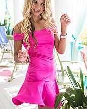 Летнее платье с открытыми плечами | Сен-тропе sk, фото 2